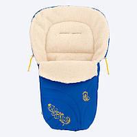 Конверт на овечьей шерсти Baby Breeze 0306 (с креплением)