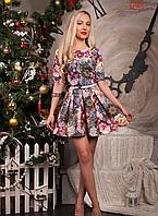 Короткое молодежное платье