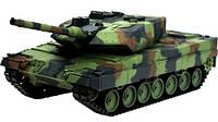 Танк Heng Long Leopard II A6 1:16 в металле с пневмопушкой и дымом