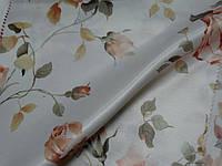 Ткань для портьеры. роза