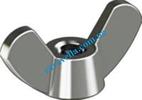 DIN 315 AF, гайка барашковая из нержавеющей стали (прямоугольные лепестки)