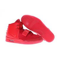 Nike Air Yeezy 2 красный
