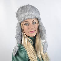 Женская шапка из искусственного меха норки (код 29-254)