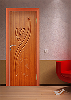 Дверь межкомнатная эконом ТМ Феникс серия Монолит модель Тюльпан
