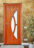 Дверь межкомнатная эконом ТМ Феникс серия Монолит модель Фантазия