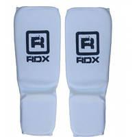 Накладки на голень и стопу RDX. Белый