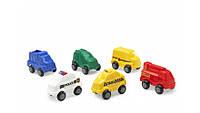 Машинки городских служб 10 см в ассортименте Viking Toys 1052