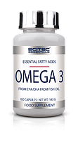 Рыбий жир Омега 3 6 9, Omega 3 6 9 Scitec Essentials Omega 3 100 capsules