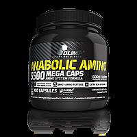 Аминокислотные комплексы Olimp Sport Nutrition Anabolic amino 5500 mega caps 400 caps
