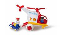 Медицинский вертолет с 3 фигурками Viking Toys 1272