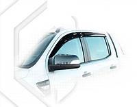 Ветровики Форд Рейнджер | Дефлекторы окон Ford Ranger III 2011