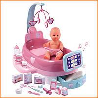 Игровой центр по уходу за куклой Baby Nurse с пупсом Smoby 24223