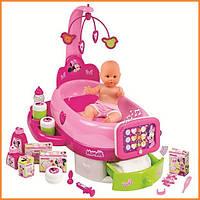 Игровой центр по уходу за куклой Baby Nurse с пупсом Minnie Smoby 24127