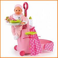 Игровой центр для ухода за куклой в чемодане Minnie Mouse Smoby 24207