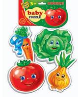 """Беби пазлы """"Овощи"""""""