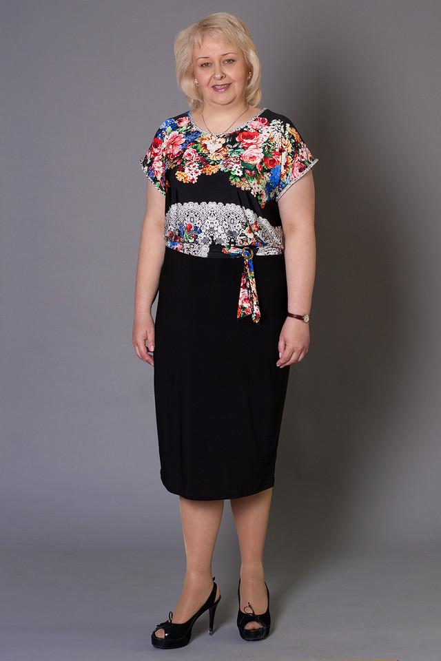 платья осень 2009 для полных