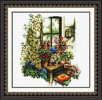 """Набор для вышивания   """"Цветочный магазин"""""""