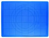 Силиконовый коврик с разметкой под разные диаметры 61*41 см