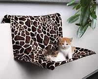 Trixie TX-43208 Гамак для кошки 48х28х30см, на радиатор, жираф