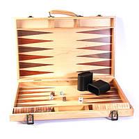 Набор для игры в нарды (тиковое дерево) AD1802-01