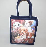 Молодежная сумка с 3-Д рисунком