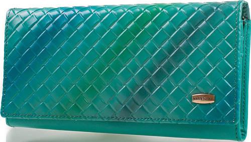 Великолепный кошелек женский из натуральной кожи VALENSIY (ВАЛЕНСИ) DSA01318123 green (зеленый)