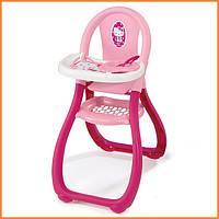 Игрушка стульчик для кормления для кукол Baby Nurse Hello Kitty Smoby 24269