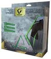Накладные игровые мониторные стереонаушники Gemix W-330