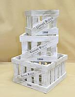 Ящики декоративные КЯ-1 (3 ящика, квадратные)
