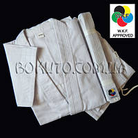 Кимоно белое для карате WKF