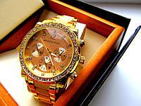 Кварцевые женские часы Michael Kors под Rolex. Стильные часы. Красивые часы. Интернет магазин. Код: КЕ207