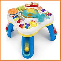 Детский развивающий музыкальный столик Bright Starts с мячами