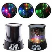 Проектор звездного неба Star Master (Стар Мастер), Ночник звездное недо с адаптером