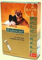 Advocate  капли для собак весом до 4кг,1 пипетка (Bayer)