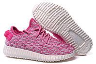 Кроссовки женские Adidas Yeezy Boost 350 Low розовые Оригинал