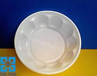 """Одноразовая тарелка """"Креманка"""" (Ø=11см) белая, 100шт/уп"""