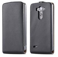 [ LG G3 D857 D858 D859 ] Кожаный ультра тонкий флип-чехол для мобильного телефона