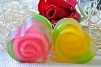 Мыло ручной работы Роза в сердце 90 грамм