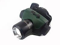 Налобный светодиодный фонарь High Power Cree ZOOM - 06
