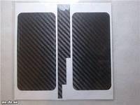 Пленка карбон для всего корпуса Iphone 4