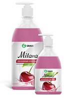 Жидкое крем-мыло Milana «Спелая черешня» 1 л. с дозатором 126401