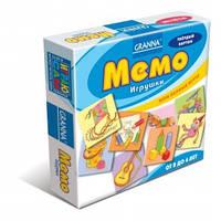 Детская настольная игра Мемо игрушки
