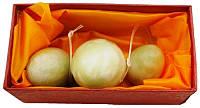 Шары Венеры из нефрита (яйца) 3 шт. набор