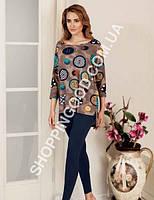 Женская пижама Mel Bee (Sahinler) MBP 22339, костюм домашний с лосинами