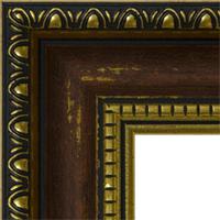 Багетная рама под заказ 3.380-A39104 (ширина профиля 30 мм). Для икон, картин, зеркал