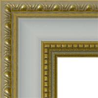 Багетная рама под заказ 3.380-white (ширина профиля 30 мм). Для икон, картин, зеркал