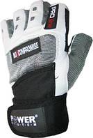Перчатки спортивные улучшенные POWER SYSTEM Серый