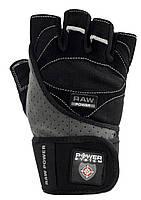 Перчатки для тяжелой атлетики мужские POWER SYSTEM Черный