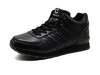 Зимние кроссовки Classica унисекс, черные, на меху, р. 39, фото 1