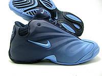 Кроссовки для баскетбола Nike Air flightposite 2013 синие Оригинал
